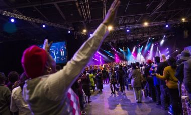 African megachurch brings Gospel back to Britain with a dazzle
