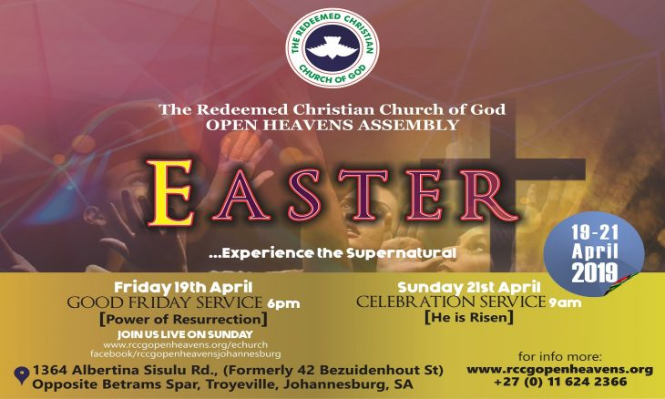 RCCG Easter service